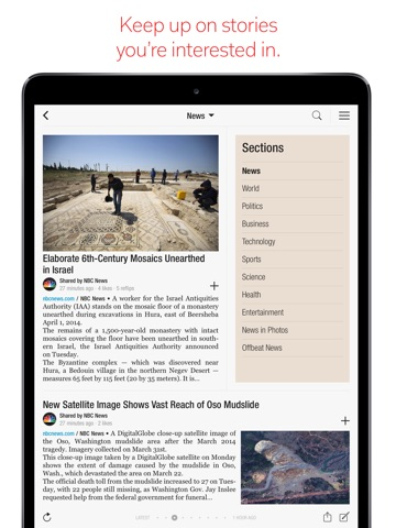 Flipboard: News For You screenshot 2