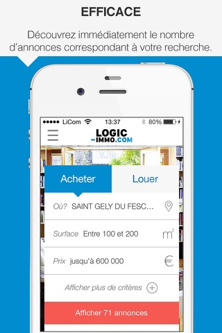Logic-immo.com screenshot 1