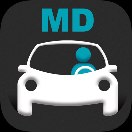 Maryland MVA DMV Exam Prep iOS App