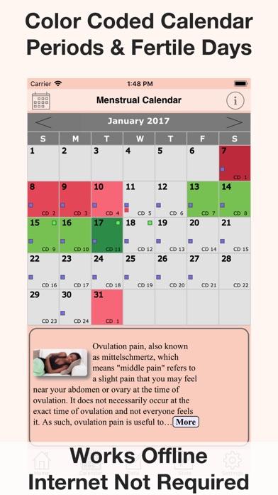 Menstrual Calendar FMC screenshot two