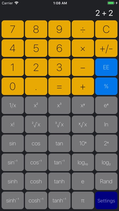 tinyCalc 3 screenshot1