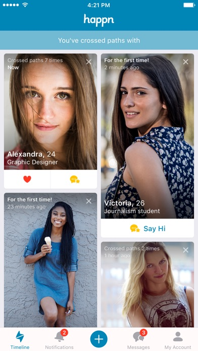 happn — Dating app Screenshots