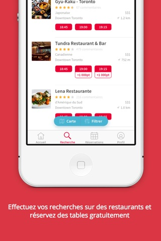 OpenTable screenshot 4