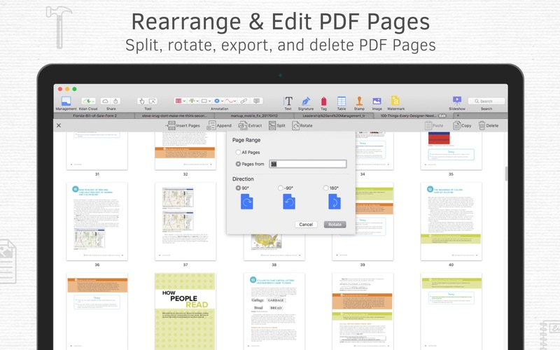 Screenshot #4 for PDF Reader Premium – Edit, Sign and Convert PDFs