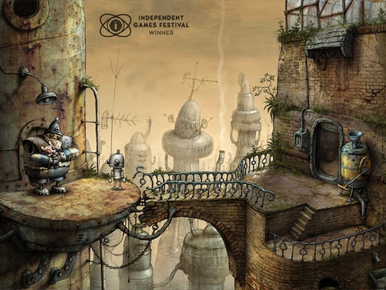 Machinarium Screenshots