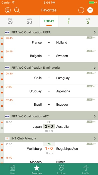 Screenshot of Futbol243