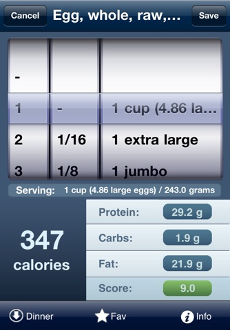 Tap & Track Calorie Counter screenshot 2