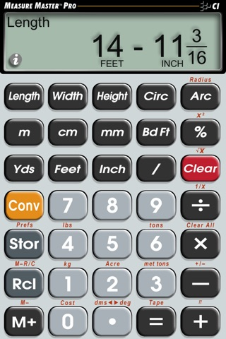Measure Master Pro screenshot 1