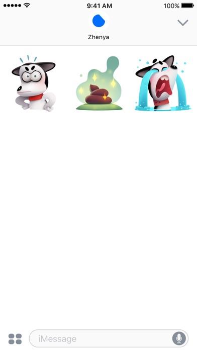 Max the Husky Stickers screenshot 4