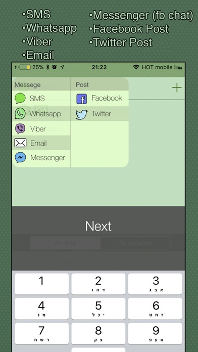 Auto Message Scheduler Screenshots