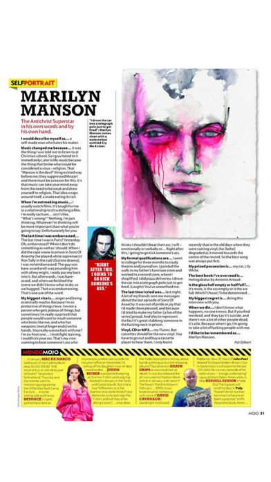 Mojo Music Magazine review screenshots