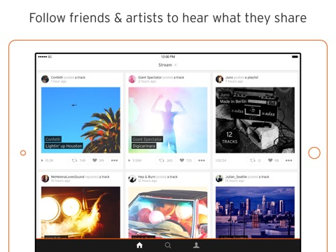 SoundCloud - Music & Audio screenshot 3