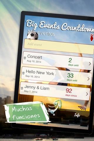 Big Days Countdown screenshot 4