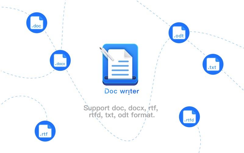 Doc Writer: Word Processor Screenshot