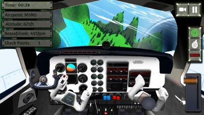 Screenshot of Sea Plane Simulator:flight sim8