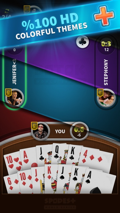 Spades - World Series screenshot 2