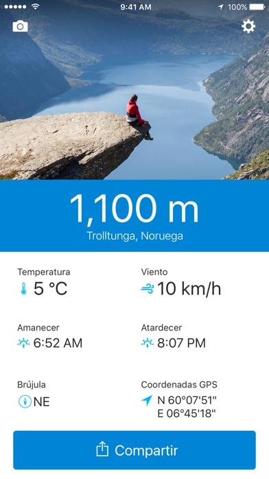 download Runtastic Altimeter: Altímetro apps 3