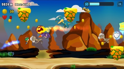 Geoboy Jet Runner Screenshot 2