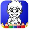 Cartoon Hero Mask Coloring Book Games Wiki
