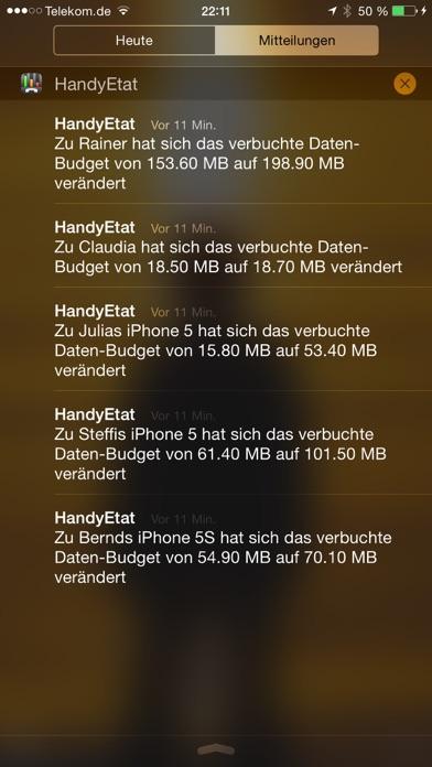 HandyEtat Screenshots