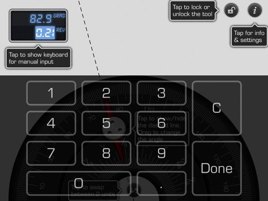 Screenshot #6 pour Protractor 1: Angle Converter