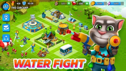 download Talking Tom Camp apps 3