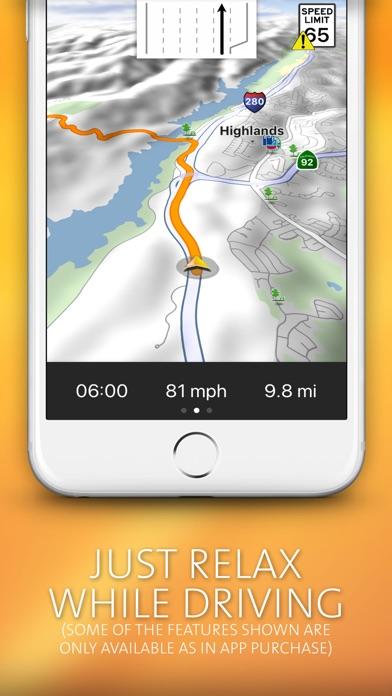 Navigon Usa review screenshots