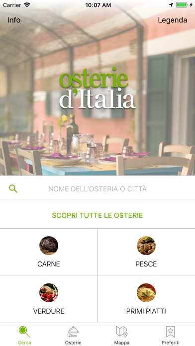 Osterie d'Italia 2018 Screenshot 1