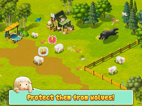 Tiny Sheep : Pet Sim on a Farm Скриншоты9