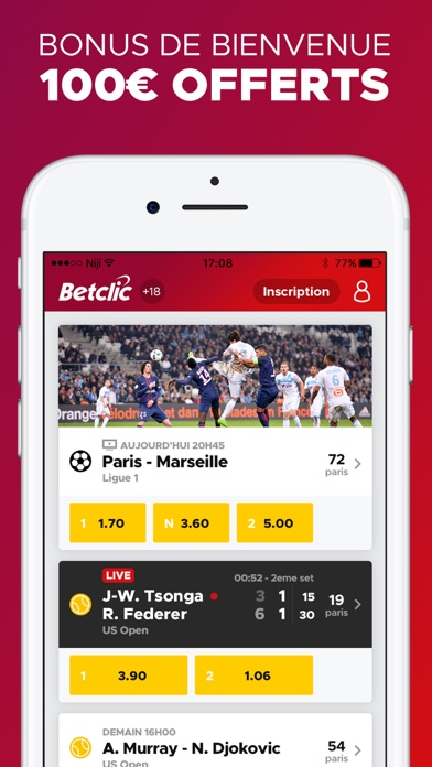 download Betclic Paris Sportifs apps 0