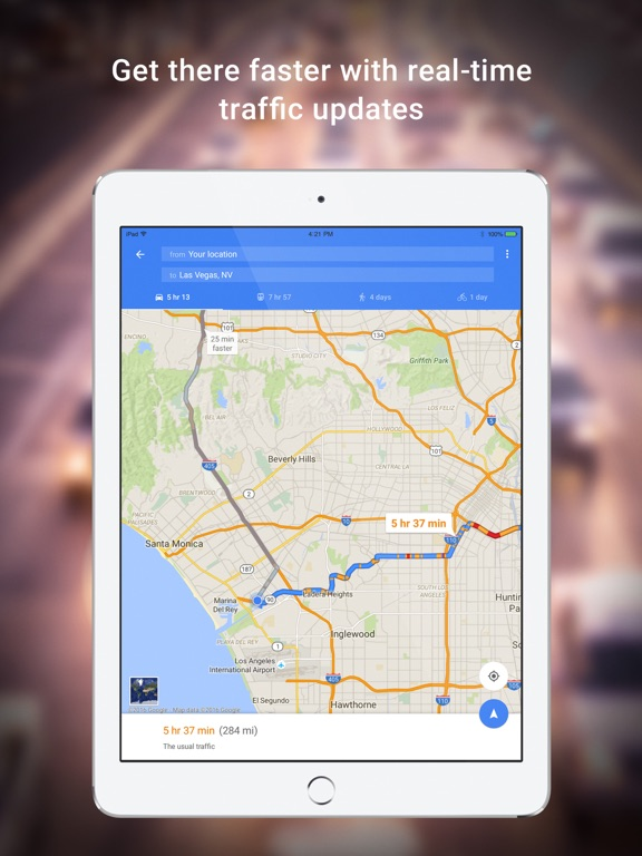 Google Maps - GPS Navigation iPad