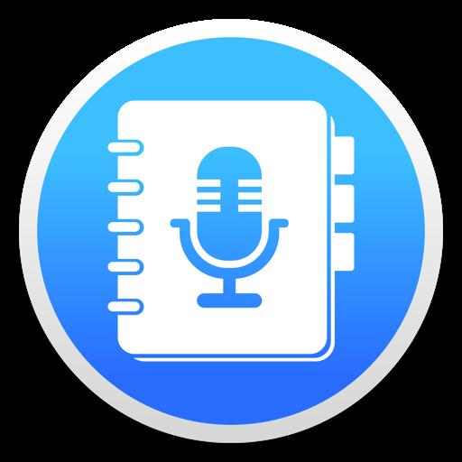 语音记事本 - 录音机, 记事本 For Mac