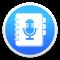(무료버전)음성 메모 - 녹음, 녹음기, 보이스 레코더, 일기 앱 아이콘