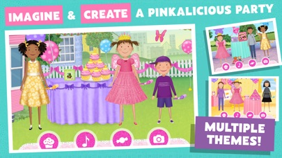 Pinkalicious Party Screenshot