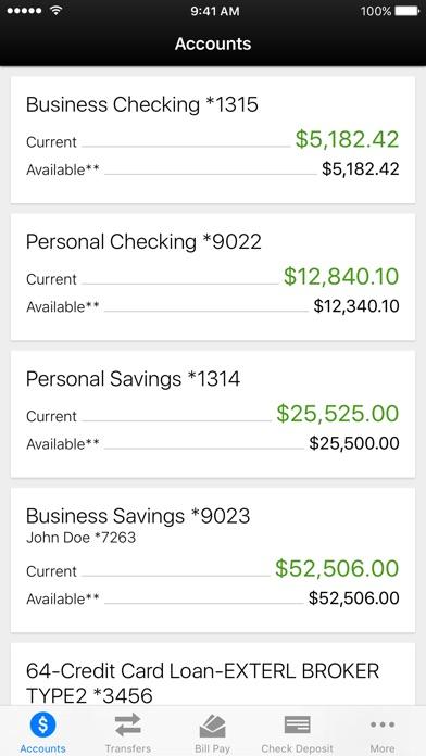 Ulster Savings Bank Mobile Banking iPhone