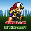 Jetpack Boy In The Forest