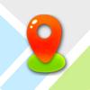 Zhongfen Li - 地图照片 - 合成地图和相片GPS位置信息 artwork