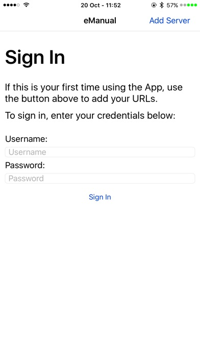 download eManual appstore review