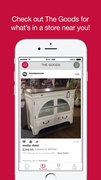 iPhone Screenshot 1. HomeGoods on the App Store