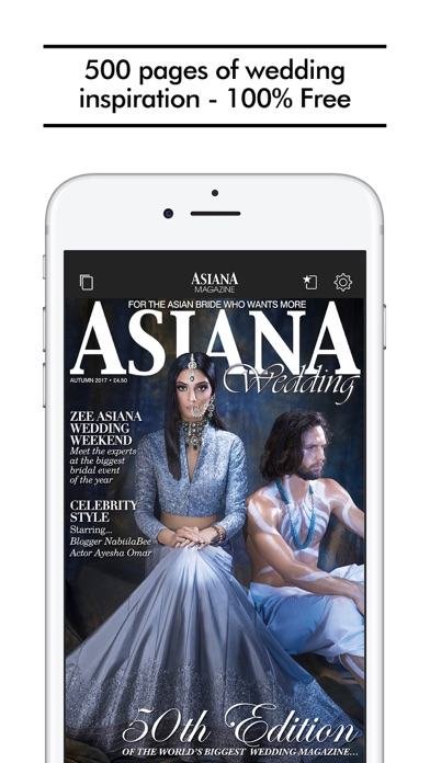 Asiana Wedding Magazine review screenshots