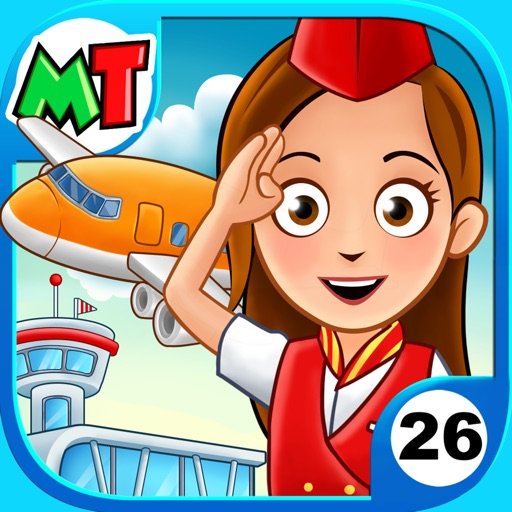 My Town : Airport app for ipad