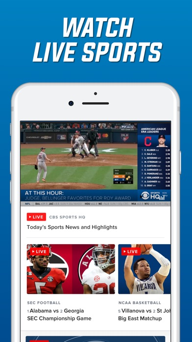 download CBS Sports Scores, News, Stats apps 0