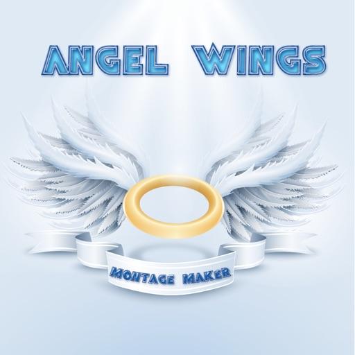 Angel Wings Montage Maker iOS App