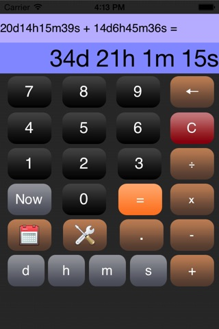 Time Calculator* screenshot 1