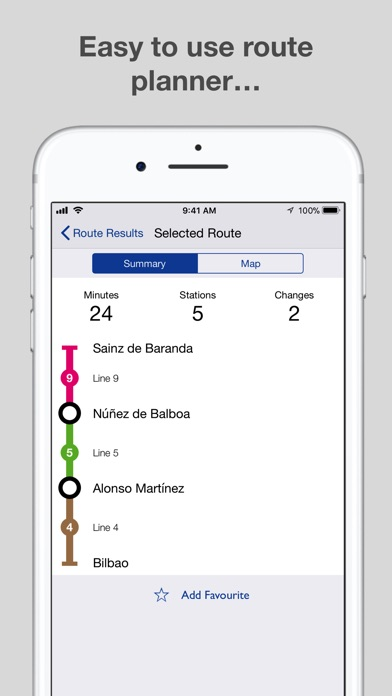 Madrid Metro - Map and Routes on the App Store