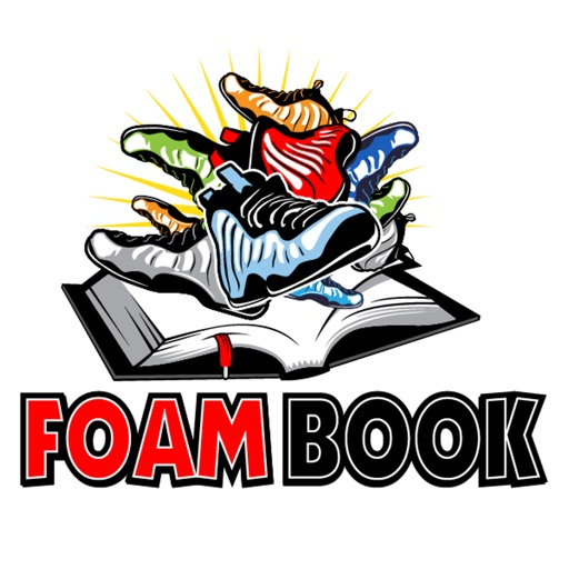 FoamBook: Nike Foamposite app iOS App