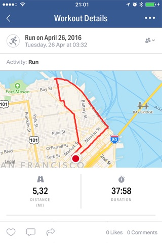 Map My Fitness by Under Armour screenshot 2
