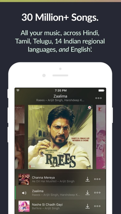 saavn++ screenshot 1