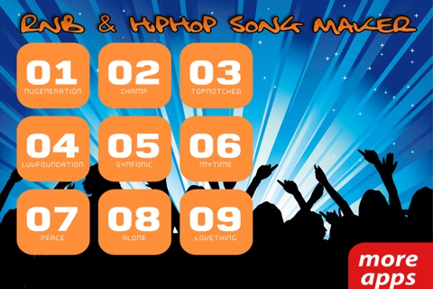 R'n'B and Hip Hop Song Maker screenshot 3