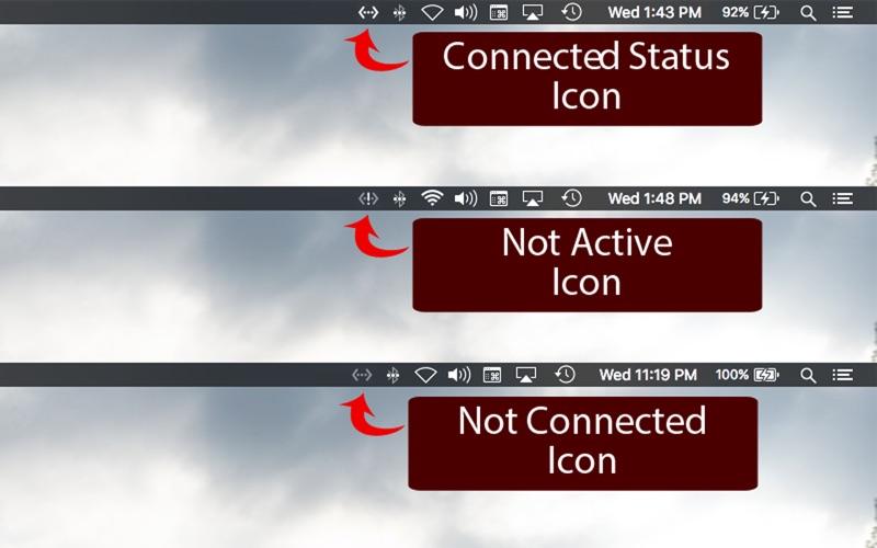 Ethernet Status - The Missing LAN Status Bar Icon Screenshot